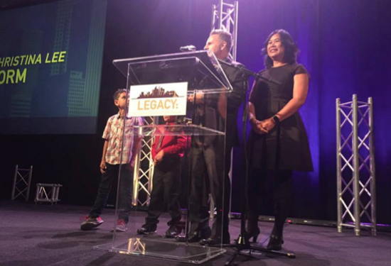 Honorees: Steve and Christina Lee Storm
