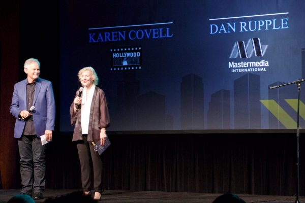 Dan Rupple of Mastermedia Intl and Karen Covell of HPN opened and closed the night