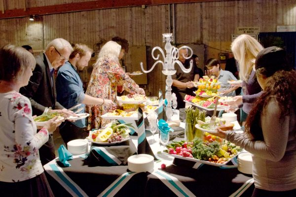 Guests enjoyed extensive appetizers and desserts catered by The Studio Event at CBS