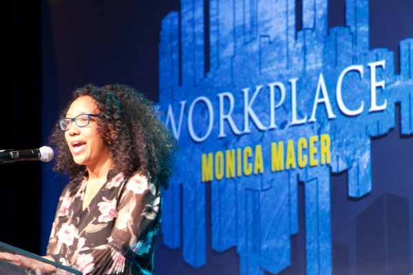 Monica Macer, TV Showrunner spoke on Women in the Workplace