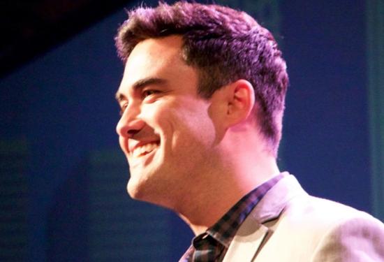 Brandon Stoltz, presenter for honoree Merlinda Balmas