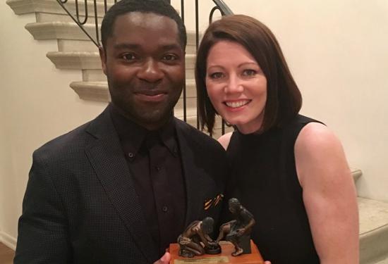 Honorees: David and Jessica Oyelowo