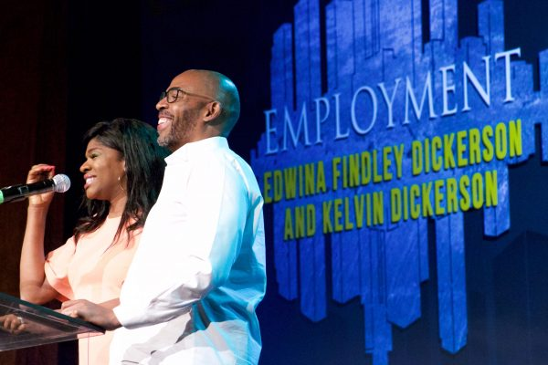 Edwina Findley Dickerson, Actress and Kelvin Dickerson, Entrepreneur spoke on Employment