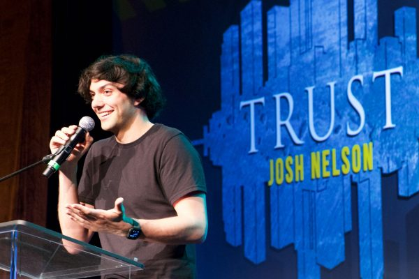 Josh Nelson, Head of VR Development and Production at JuVee Productions spoke on Trust