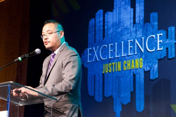 Justin Chang, LA Times and NPR film critic spoke on Excellence
