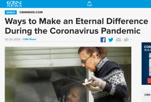 Ways to make an eternal difference during the coronavirus pandemic 1