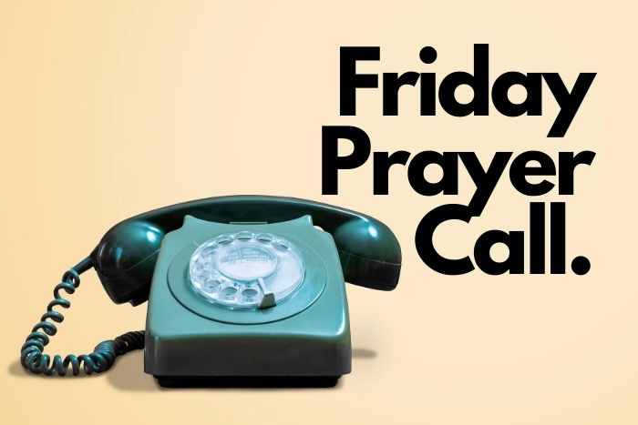 Friday Prayer Call