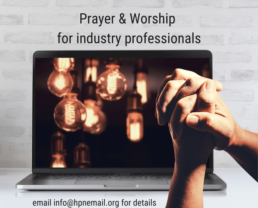 prayer and worship for industry professionals LINK