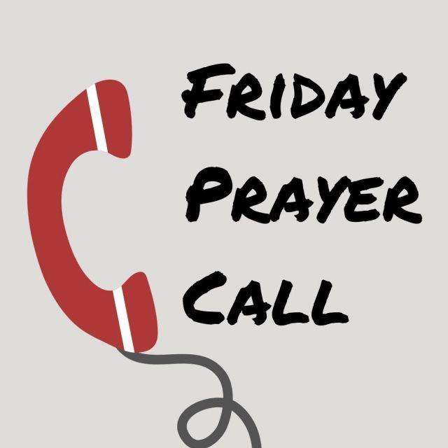 Join us for our Friday Prayer Call, tomorrow at noon pacific! Email Danae@hpnemail.org for details.