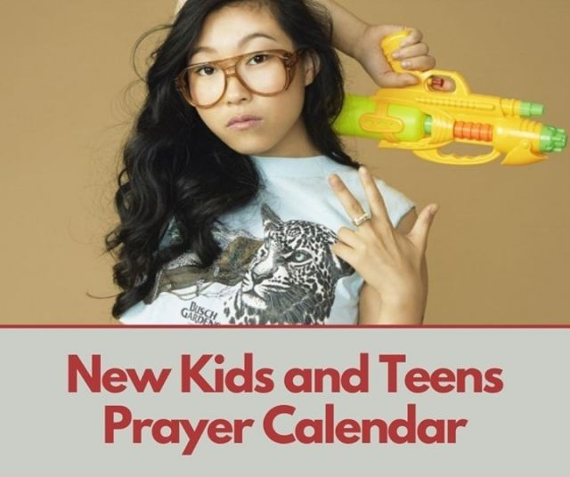 📆 March Kids and Teens Prayer Calendar is on our website! Join us in praying for Awkwafina and many others. 🙏 ❤️