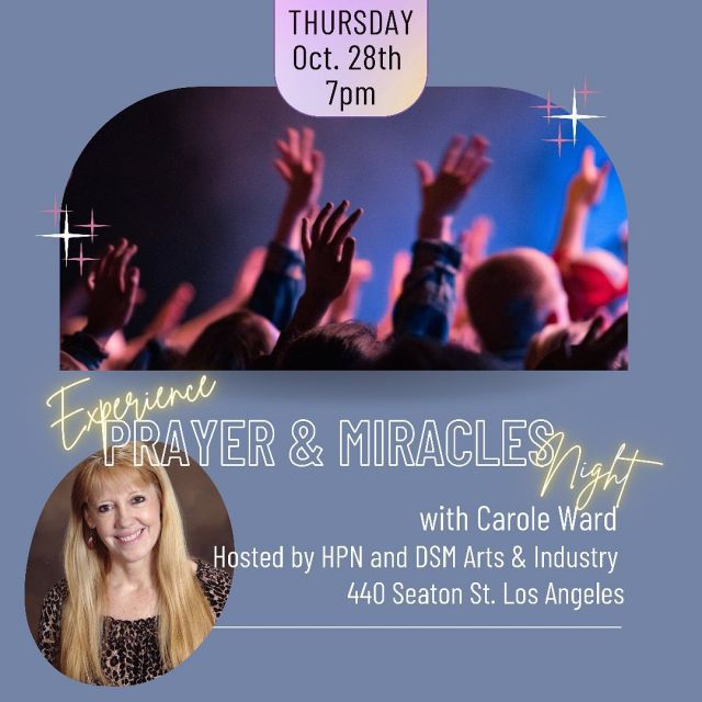 We are honored to partner with Carole Ward @carolefavor and DSM Arts & Industry @dsmhollywood for a night of powerful Testimonies, Teaching, Prayer, and Miracles. COME EXPECTING MIGHTY THINGS! This is for any of you who wants to grow in your understanding of prayer and spiritual warfare, contending for breakthrough, and believes for the supernatural in your life!  #artsdistrictchurch #losangeles #biblestudy #pray #miracle #hollywood
